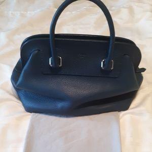 Fendi Selleria Satchel Authentic Leather Bag